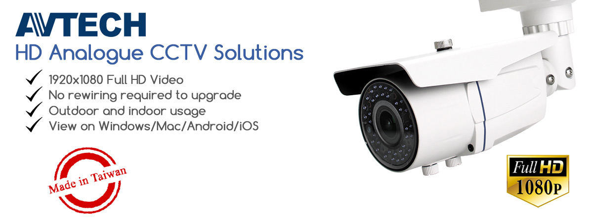 Full HD Analogue HD CCTV