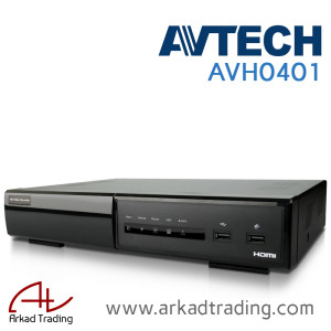 AVH0401 – 4 Channel network recorder (NVR)