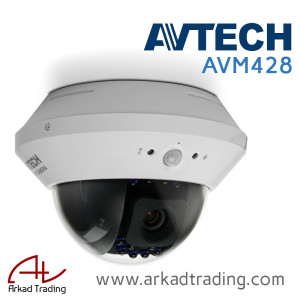 AVM428 - 2 Mega Pixels IP Camera with PIR sensor