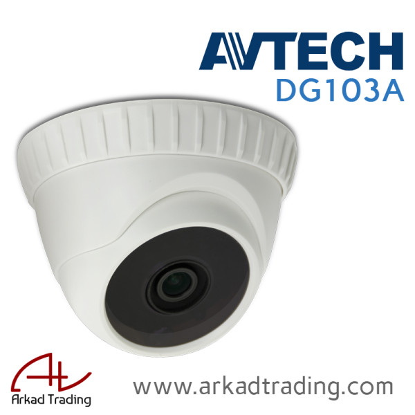 DG103A - 2MP HD Indoor Dome Camera
