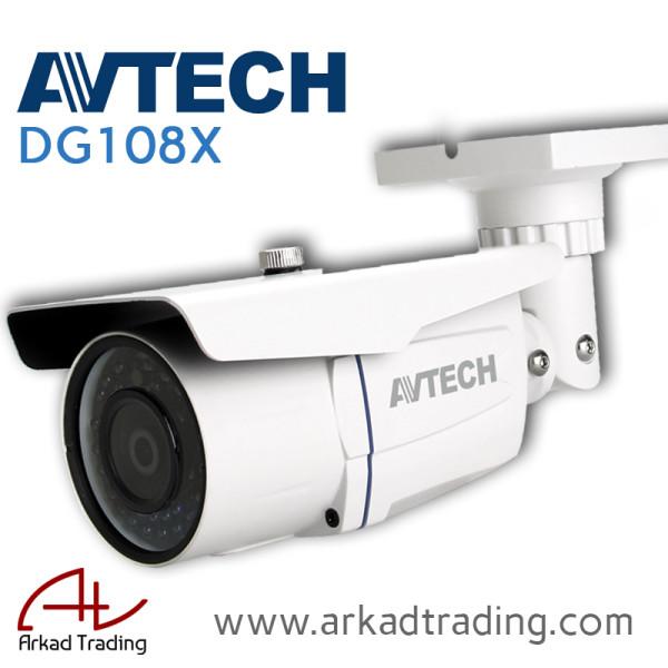 DG108X - Full HD TVI Outdoor Camera