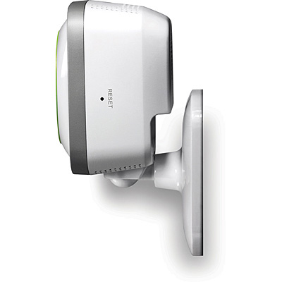TRENDnet TV-IP743SIC Wireless Baby Camera - Wall mounted side