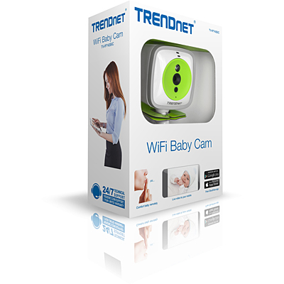 TRENDnet TV-IP743SIC Wireless Baby Camera - Packaging