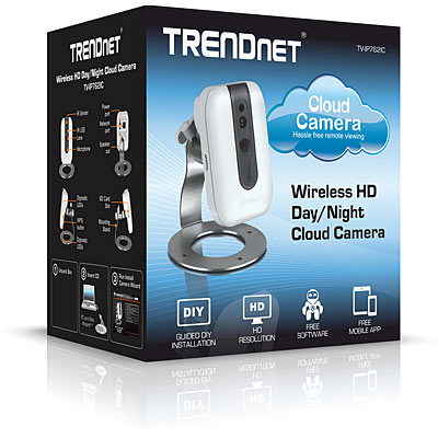 TRENDnet TV-IP762IC HD Wifi IR Day/Night Cloud Cam - Box