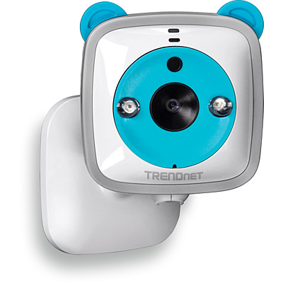 TRENDnet TV-IP745SIC Wireless HD Baby Cam - Mounted 02