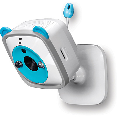 TRENDnet TV-IP745SIC Wireless HD Baby Cam - Mounted 01