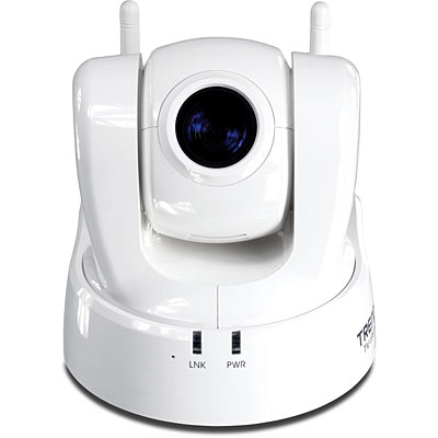 TRENDnet TV-IP612WN PTZ IP Cam – Front
