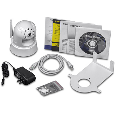 TRENDnet TV-IP662WI Wifi Megapixel Cam – Contents